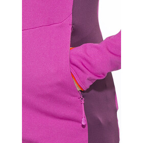 Bergans Paras Veste Femme, pink rose/plum/koi orange